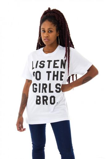 Camiseta Korova Listen To The Girls Branca