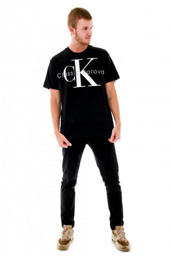 Camiseta (regular) Classic Korova Preta