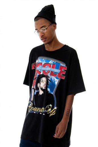 Camiseta (regular) J. Cole 90s Preta