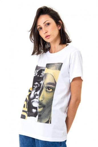 Camiseta Korova BEEFS or BFFs Big x Tupac Branca