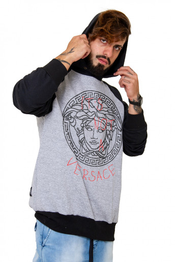 Moletom Hoodie Raglan Korova It's not a ...