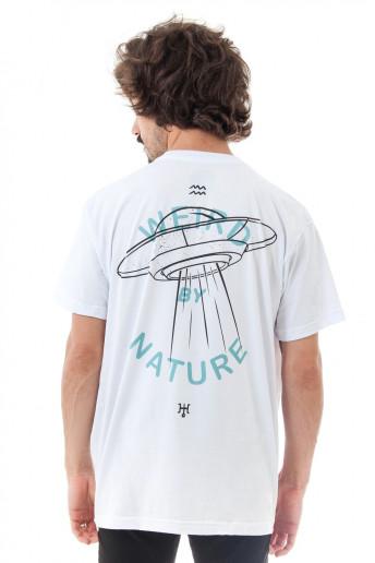 Camiseta Korova Zodiac Signo Aquário Branca