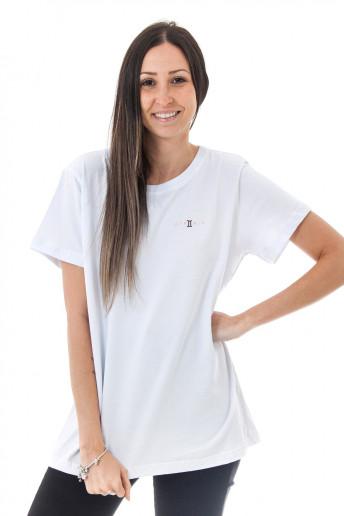 Camiseta Korova Zodiac Signo Gêmeos Branca