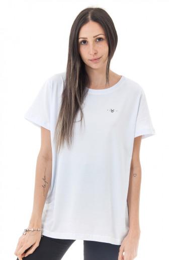 Camiseta Korova Zodiac Signo Touro Branca