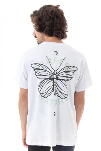 Camiseta Korova Zodiac Signo Virgem Branca