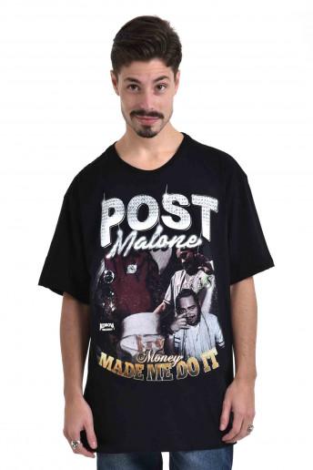 Camiseta Korova Rap 90s Post Malone Preta