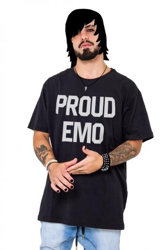 Camiseta Korova Proud Emo Preta