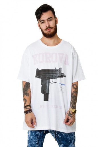 Camiseta (regular) Reload Branca