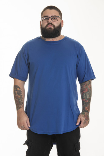 Camiseta Korova Tall Tee Azul Royal