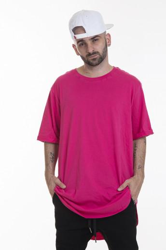Camiseta Korova Tall Tee Rosa Pink