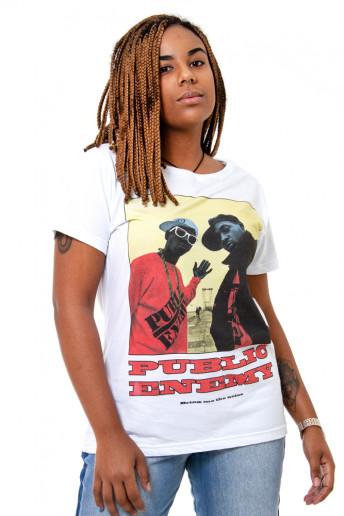 Camiseta Korova 90s Icons Public Enemy Branca