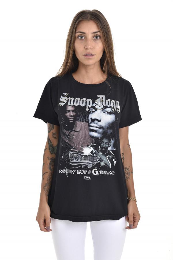 Camiseta Korova Rap 90s Snoop Preta