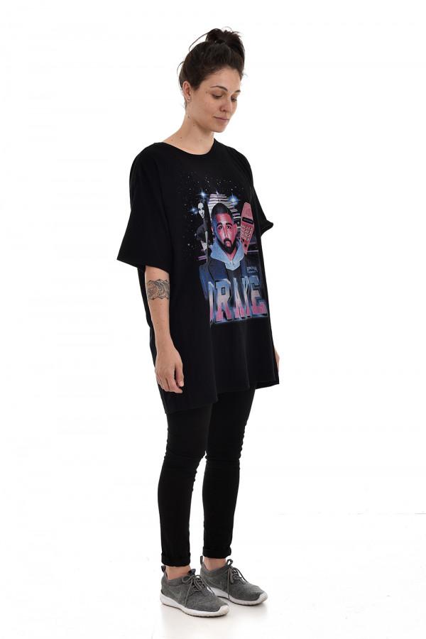 Camiseta Korova Rap 90s Drake Preta