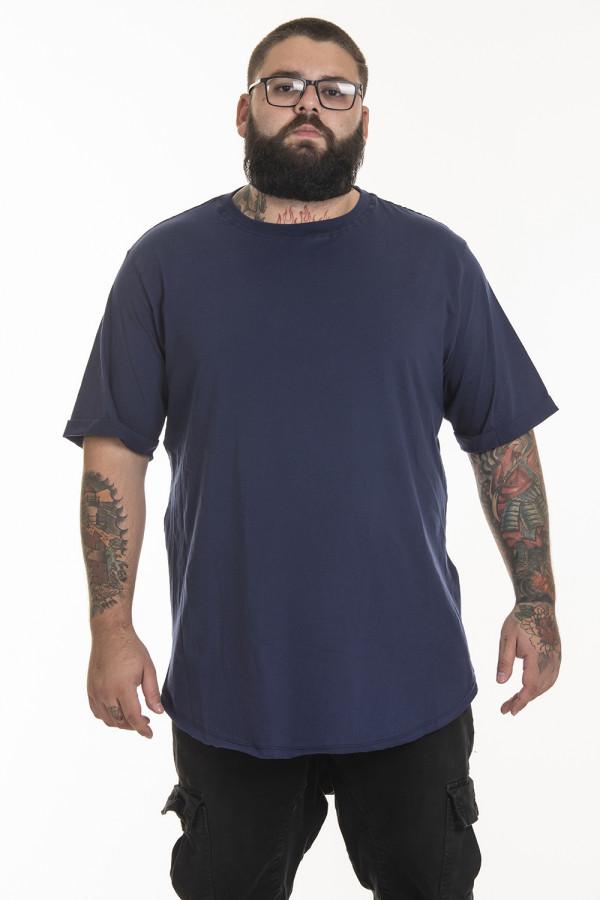 Camiseta Korova Tall Tee Azul Marinho