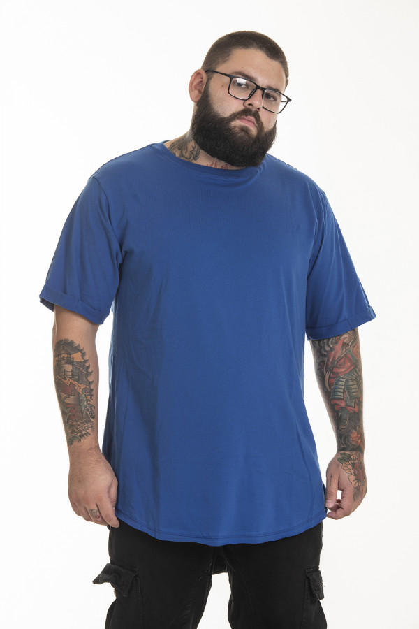 Camiseta Korova Tall Tee Azul Royal