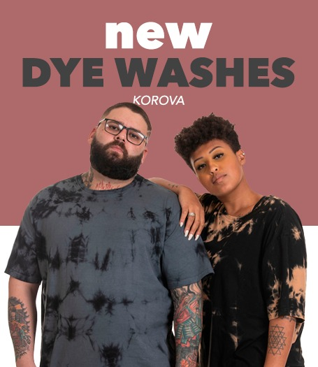 dye washes
